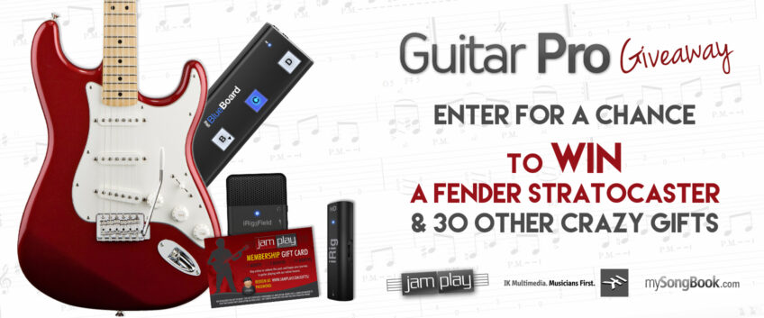 Giveaway: Win a Fender Stratocaster and 30 other crazy gifts