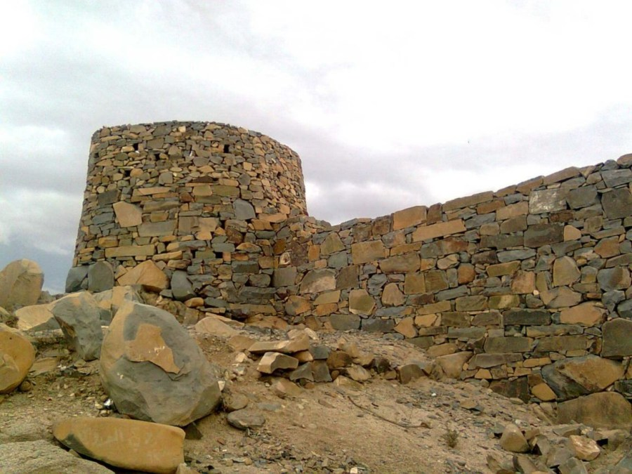 Taif historical wall
