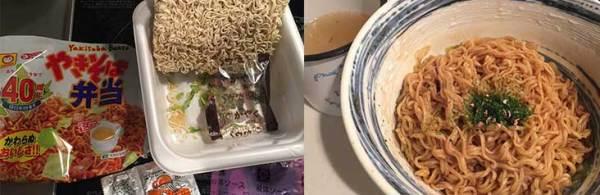 ■【衝撃レシピ】北海道限定『焼きそば弁当』が生麺食感に!