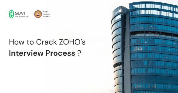 crack ZOHO's interview