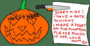 DIY Pumpkin for Halloween
