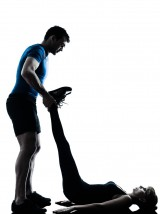 Assisted exercise or stretching
