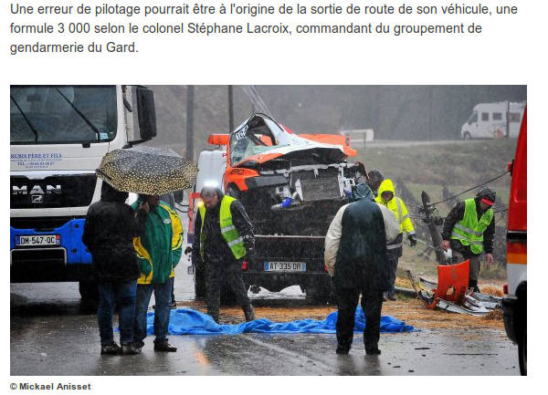 Capture d'écran de l'article de France 3.