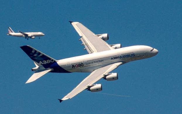 Airbus A380 au Bourget 2011