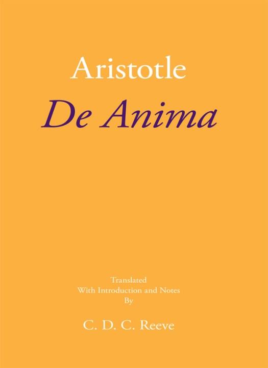 De Anima Cover