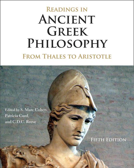 Ancient Greek Philosophy cover iamge