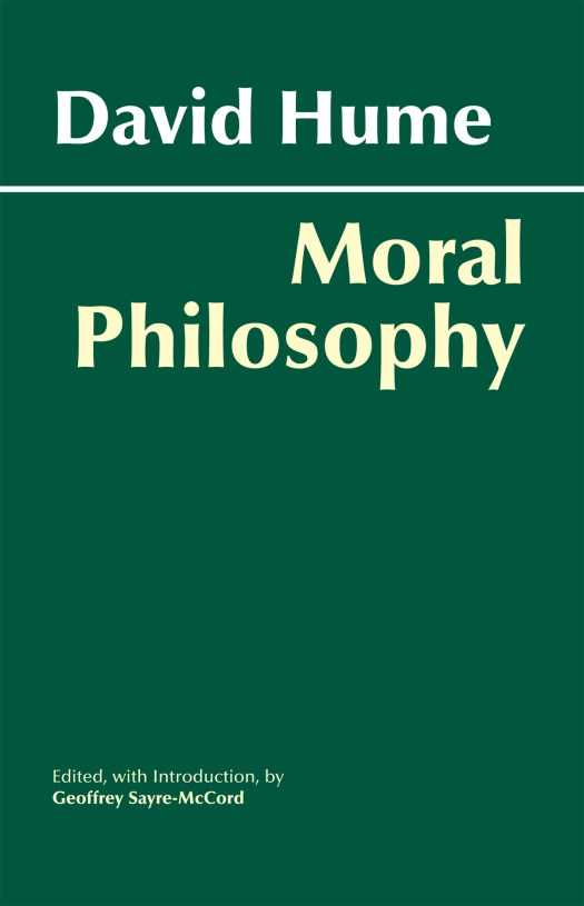 Hume Moral Philosophy cover image