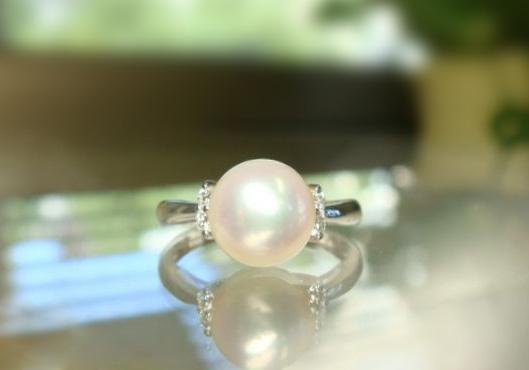 真珠のリングへのリフォーム【神戸 元町】