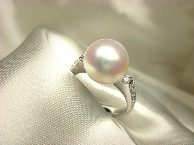 真珠の指輪へリフォーム【神戸 元町】