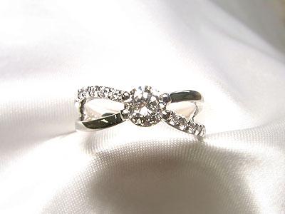 天国のお友達との思い出をダイヤモンドリングへリフォーム【神戸 元町】