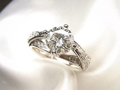 ご婚約指輪へ1ctダイヤモンドをリフォーム【神戸 元町】