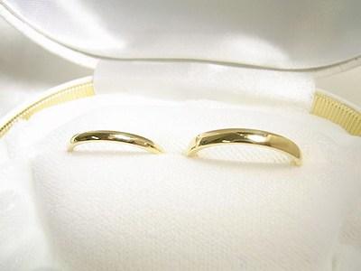 ゴールドの結婚指輪【神戸 元町】