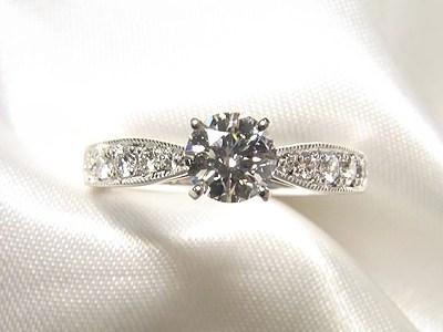 婚約指輪を新しいデザインへリフォーム【神戸 元町】