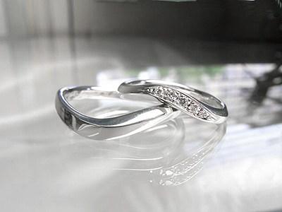 ご結婚指輪のペアデザイン【神戸 元町】