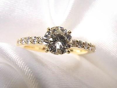 お義母様の立爪ダイヤをリフォーム【神戸 元町】