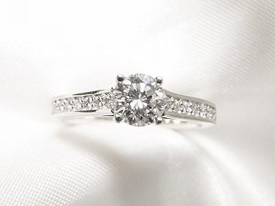 立爪のご婚約指輪をカジュアル使いのリングへリフォーム【神戸 元町】
