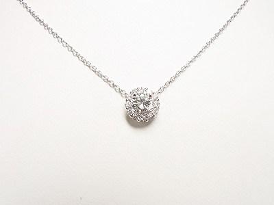 ダイヤモンドペンダントネックレスのセミオーダーメイド価格【神戸 元町】