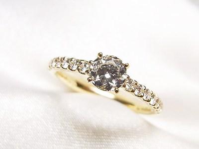 おばあさまの0.3ctUPダイヤモンドリングをリフォーム【神戸 元町】