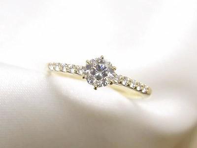 0.255ctダイヤモンドをカジュアルでかわいいリングへリフォーム【神戸 元町】