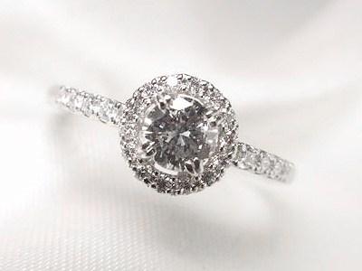 おばあちゃんの0.28ctダイヤモンドをリフォーム【神戸 元町】