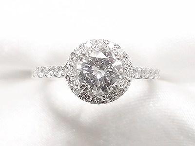 おばあさまから受け継がれたダイヤモンドをご婚約指輪へリフォーム【神戸 元町】