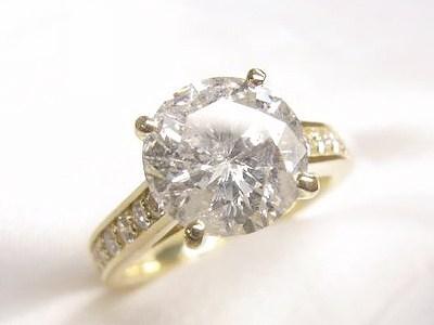 3.5ct立爪ダイヤモンドリングをK18製カジュアルリングへリフォーム【神戸 元町】