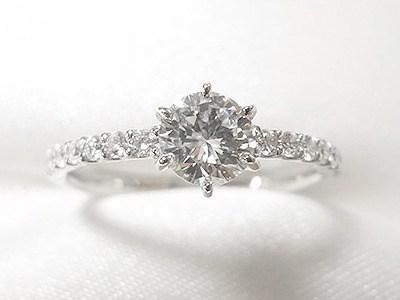 ご家族の0.4ctUPダイヤモンドをエンゲージリングへリフォーム【神戸 元町】