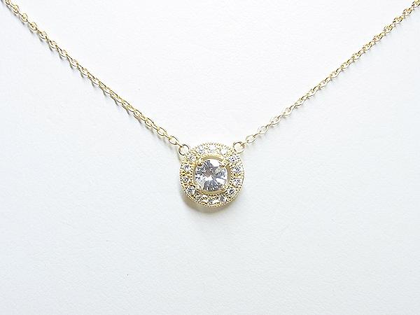 3ストーンダイヤペンダントのリフォーム【神戸 元町】