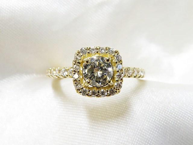 ご遺品の立爪ダイヤモンドリングをおしゃれにリフォーム【神戸 元町】