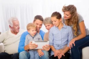 famille tablette web