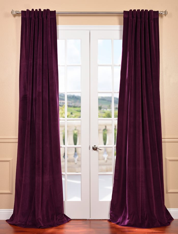 How to Care for Velvet Curtains