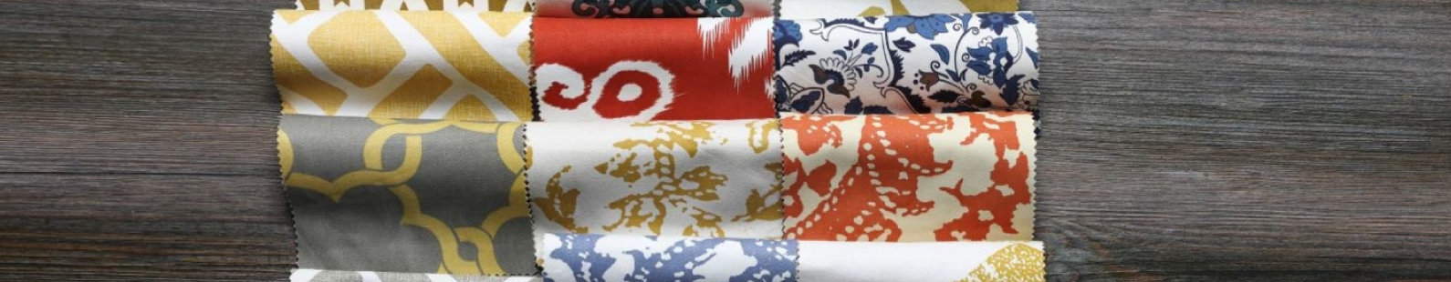 Multi-Patterned Curtain Swatches