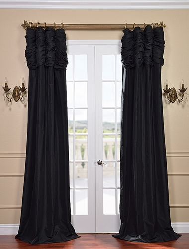 Can solid silk drapes work if you have pets?