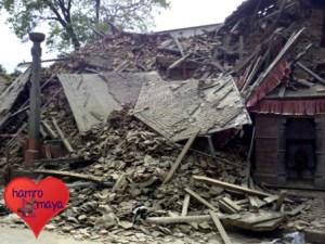 Erdbeben in Nepal (Foto: hamromaya Nepal e.V.)