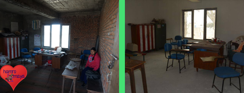 Alle Räume in der Behindertenschule sind saniert.