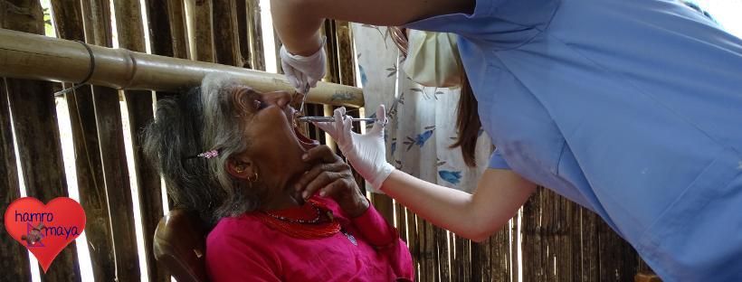 Dental Camp in Ikudol
