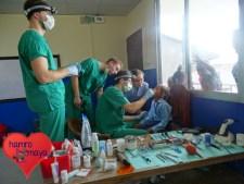 Ein herzliches Dankeschön an die vier Freiwilligen Dental Volunteers