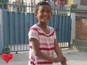 Sumnima wird bald in der 5.Klasse strahlen.