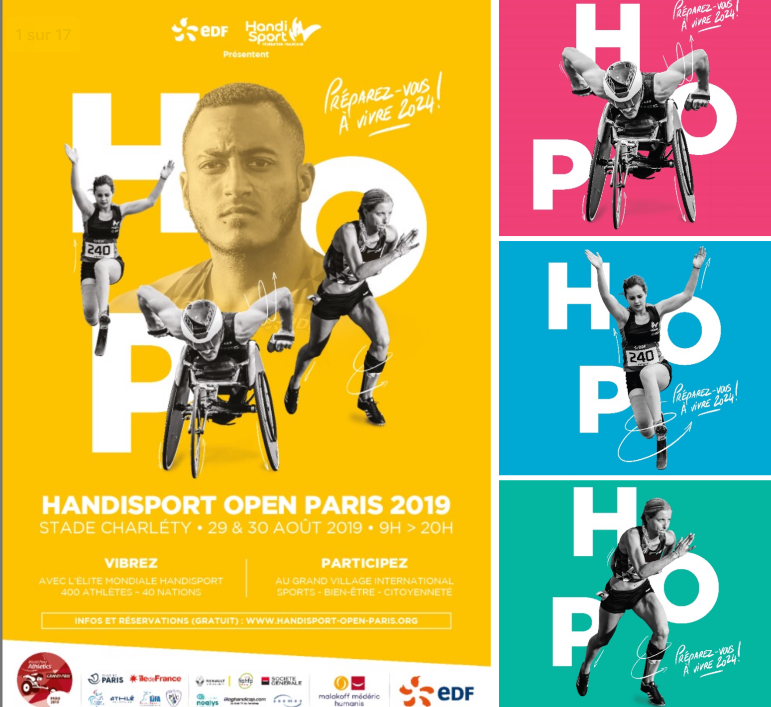 Read more about the article Handisport Open Paris 2019 au Stade Charléty