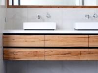 Custom timber vanities: Bringing warmth to the bathroom