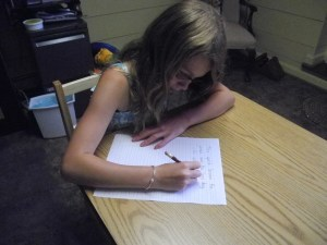 A child who struggles with handwriting skills could benefit from a vision assessment!