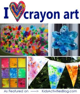 abstract art kids activity blog