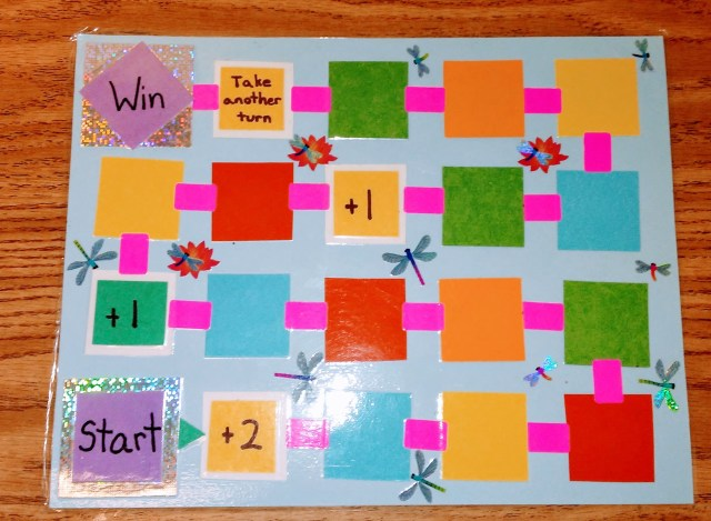 Game boards that are aimed at handwriting mastery can be designed easily and inexpensively.