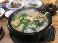 제주 대정읍 흑돼지 국밥