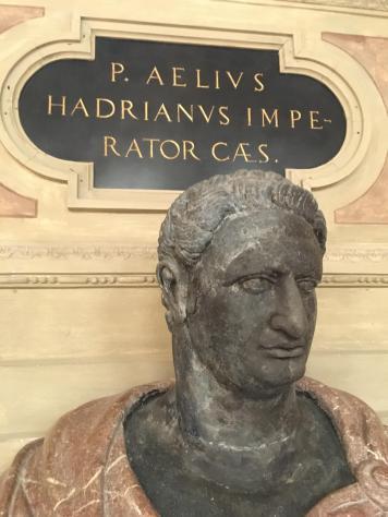 명군이었던 하드리아누스 황제