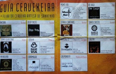 Guía Feria Cerveza Sanxenxo