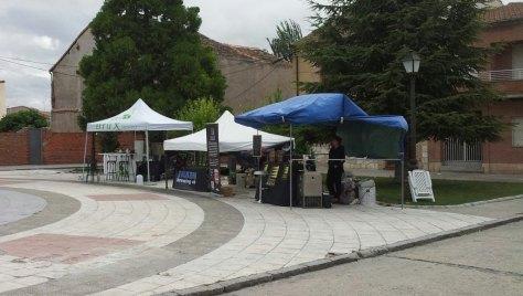 Stands Feria Aguilafuente de cerveza Artesana