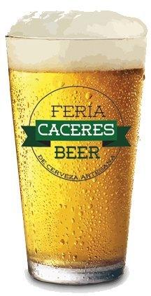 Vaso para el Cáceres Beer