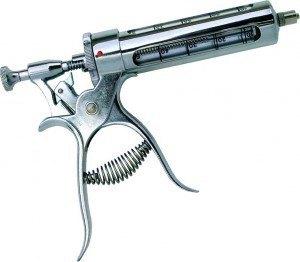 Jeringa Pistola con regulador