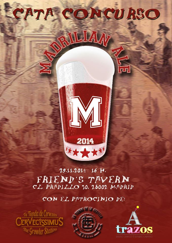 Cartel Madrilian Ale 2014